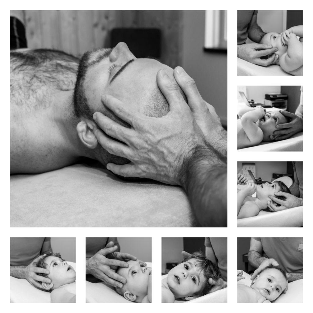 Verschillende behandeltechnieken van het craniosacrale systeem